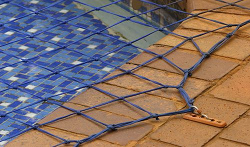 mesh pool safety net covering jacksonville pool