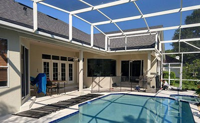 pool safety fence installation in jacksonville